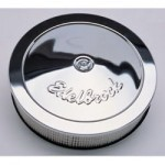 "Edelbrock Pro-Flo 14"" Chrome Air Cleaner"