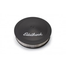 "Edelbrock 14"" Black Air Cleaner"