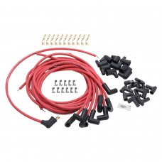 Edelbrock Max-Fire Ignition Leads Red 90 Deg