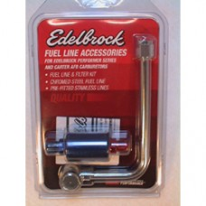 Edelbrock Universal Fuel Line & Filter Kit