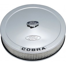 "Ford COBRA 13"" Chrome Air Cleaner"