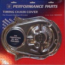 Bowtie Chrome Timing Cover BBC
