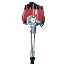 HEI GM Red Polished Distributor