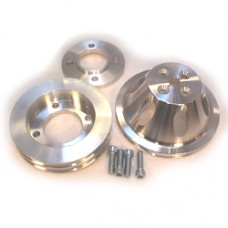 SBF Alloy Pulley Set 4 Bolt